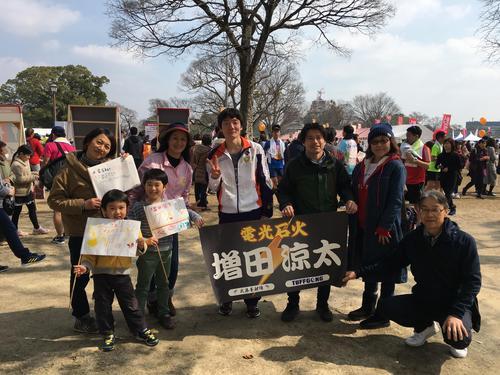 増田君、フルマラソン見事完走!!2時間40分台
