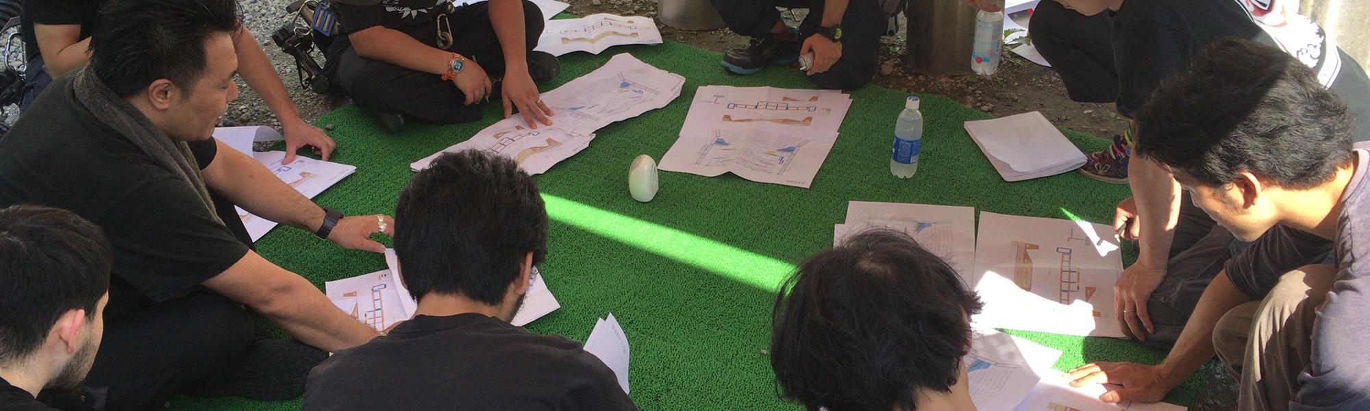 タフゴングは、美術製作・大道具・舞台装置のプロフェッショナル集団です