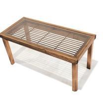 古建具ガラステーブル